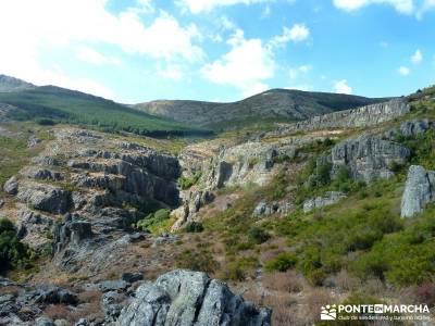 Ocejón - Sierra de Ayllón; puente del pilar excursiones pedraza velas viajes semana santa